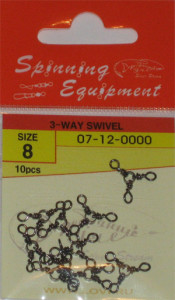 3-WAY SWIVEL №8