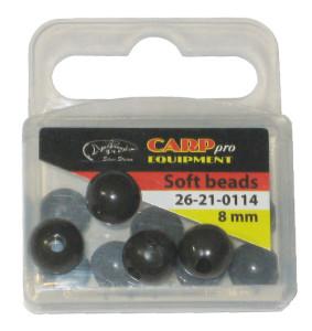 Бусина HK11513-8 Soft beads d 8 mm (уп. 12 шт.) цвет Matte Green