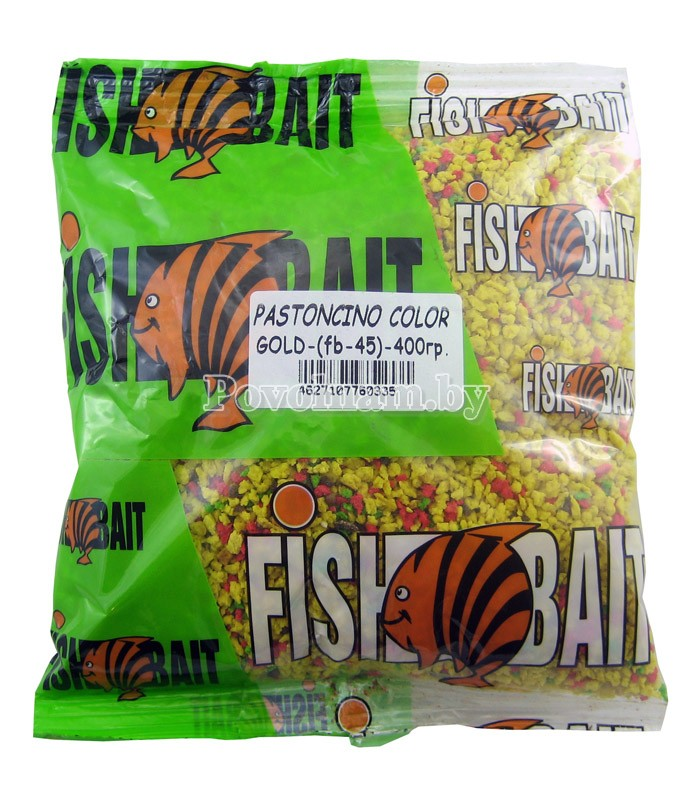 Добавка FISHBAIT Pastoncino-Color, Цветной 0.4 кг.