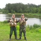 Городол Сергей и Матусевич Александр _ окуневая рыбалка 2016  июнь