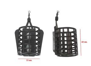 Кормушка рыболовная Sport-H огруженная 10-30гр. А-002