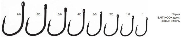 Крючки BAIT HOOK