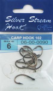 Крючки CARP HOOK 102 (b-n) №6