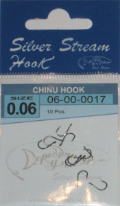 Крючки CHINU HOOK bn № 0.06