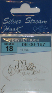 Крючки DRY FLY HOOK nbr № 18