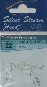 Крючки DRY FLY HOOK nbr № 22