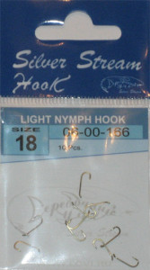 Крючки LIGHT NYMPH HOOK nbr № 18