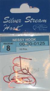 Крючки NESSY HOOK red № 8