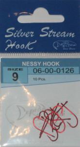 Крючки NESSY HOOK red № 9