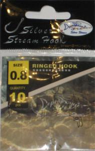 Крючки RINGED HOOK bn № 0.8