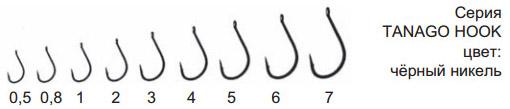 Крючки TANAGO HOOK