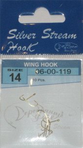 Крючки WING HOOK G № 14