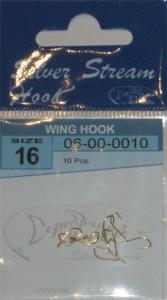 Крючки WING HOOK G № 16