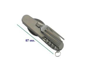 Нож, вилка и ложка SSQ-04 1
