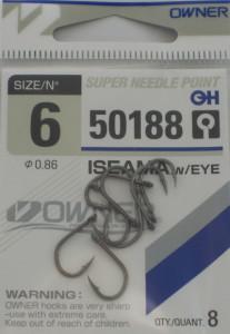 Одинарный крючок OWNER 50188-06