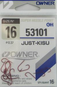 Одинарный крючок OWNER 53101-16