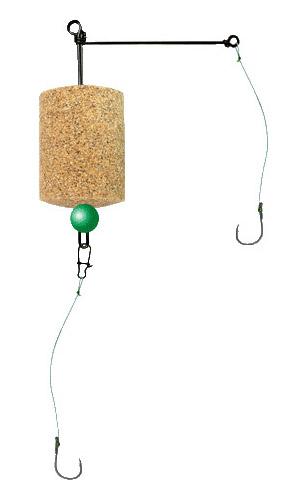 Оснастка для технопланктона Г-образная с 2 крючками