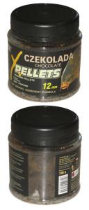 PELLETS крючковый 100г-12 mm Czekolada (шоколад)