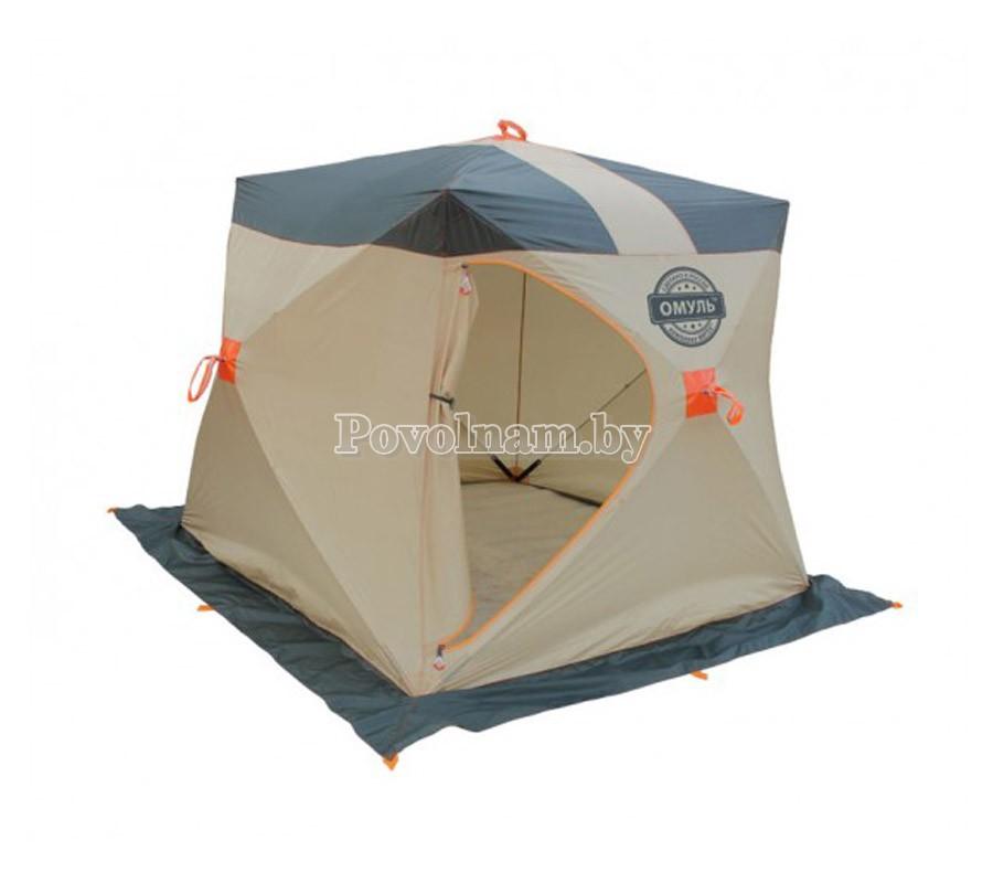Палатка Митек Омуль-Куб 1 серая