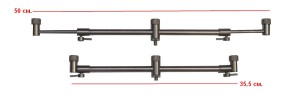 Перекладина HK0002 Stainless steel buzzer bar with buzzer butt locks 3x 26-32-0045