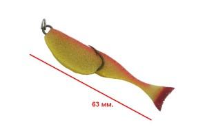 Поролоновая рыбка MARKA FISH с двойником №7 Ф 006