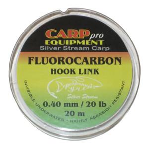 Поводковый материал фторкарбон HK9075-20 Fluorocarbon d 0,40 mm 20 lb 20 m