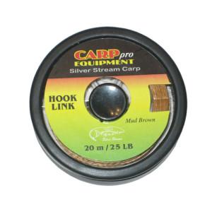 Поводковый материал тонущий HK3708-25 Hooklink Fast Sinking цвет Mud Brown 25lb 20m