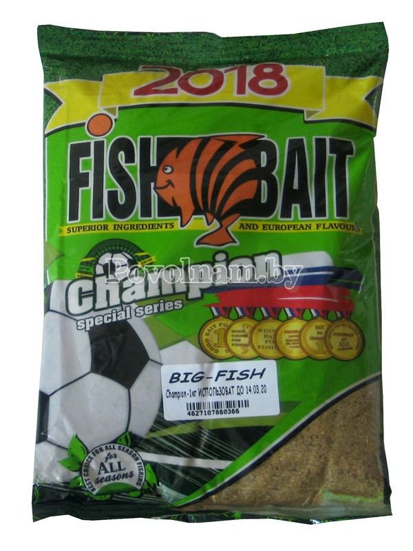 Прикормка Champion FishBait BIG-FISH