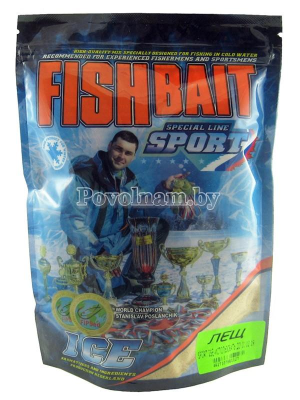 Прикормка FISHBAIT серия ICE-Sport для холодной воды Лещ  750 гр.
