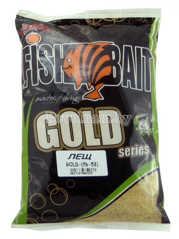 Прикормка Лещ_серия Gold FishBait 1кг.