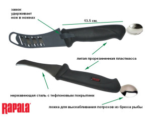 RFNC4 Разделочный нож Rapala 2