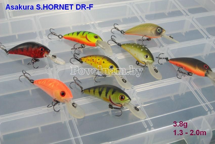S.HORNET DR-F 3.8g 1.3 - 2.0m
