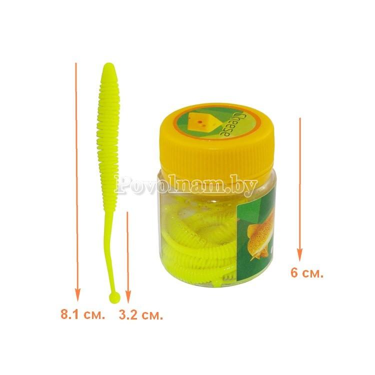 Шарохвост шумовой 3.2-8.1см. 1.5гр. Цвет PA43 SLG