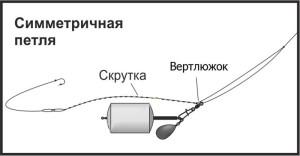 Симметричная петля с технопланктоном 0