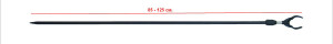 Стойка HK3014 Standard bank stick U-head with outer twist lock 75 cm 26-32-0057
