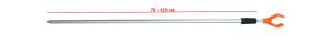 Стойка RPA-615-1-U 70-125 cm наконечник U 26-32-0015