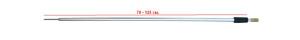Стойка RPA-615-1A-0 70-125 cm наконечник с резьбой 26-32-0003