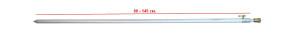 Стойка RPA-655-1-0 80-145 cm наконечник с резьбой 26-32-0022