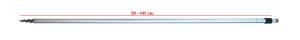 Стойка RPA-655-1A-0 80-145 cm наконечник с резьбой 26-32-0025