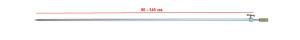 Стойка RPS-610-0 80-145 cm наконечник с резьбой 26-32-0028