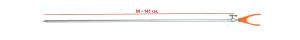 Стойка RPS-610-U 80-145 cm наконечник U 26-32-0030