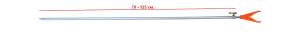 Стойка RPS-610-V 70-125 cm наконечник V 26-32-0031