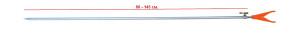 Стойка RPS-610-V 80-145 cm наконечник V 26-32-0032