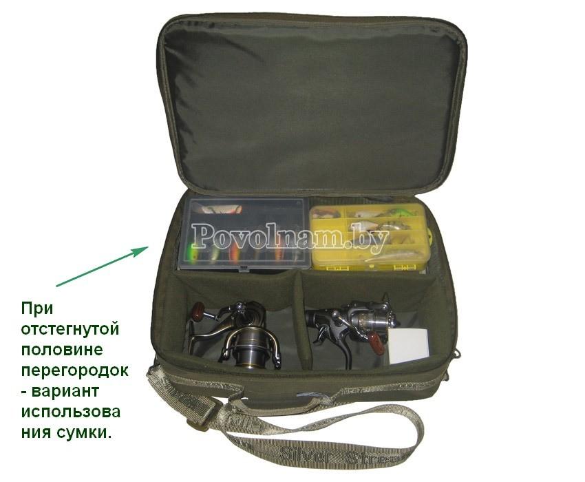 Сумка для катушек Серебряный ручей СДК-СР 6
