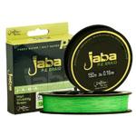 Титульная Плетеная леска JABA Line зелёный флю