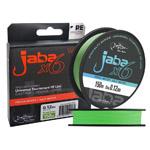 Титульная Плетеная леска JABA X6 Line зелёный флю