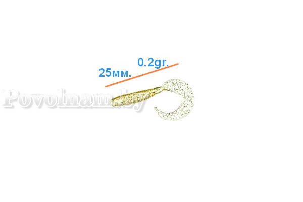 Твистер CT 25-021 (25mm 0.2g) 10-00-0041