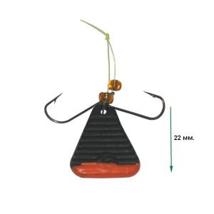 Яйца Треугольные черные с лог. i 12 гр.