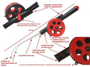 Зимняя удочка Bumerang Special 2